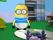 Play Baby Minion Room Decoration Game