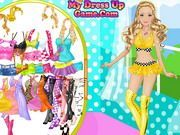Play Barbie Motor Model Dress Up Game