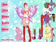 Play Butterfly Girl Dressup Game