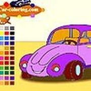 Play Cute car coloring Game