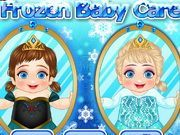 Play Frozen Baby Care Game