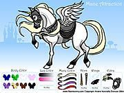 Play Mane Attraction Pony Dress up Game