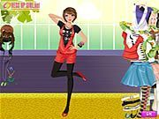 Play Miss Sixty Dress up Game