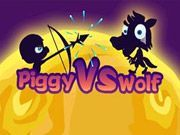 Play Piggy vs Wolf Game