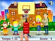 Play Street Basket Game