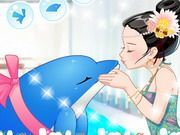 Play A Dolphin Kiss Game