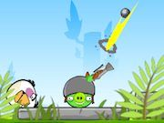 Play Angry Pig Shooter Game