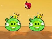Play Angry Birds VS Green Pigs Game