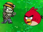 Play Angry Birds Zombies War Game