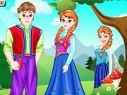 Play Anna And Kristoff True Love Kiss Game