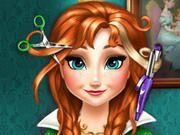 Play Anna Frozen Real Haircuts Game
