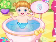 Play Baby Alice Bathing Game