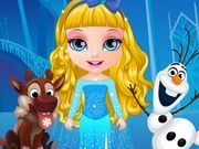 Play Baby Barbie Frozen Costumes Game