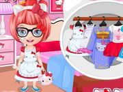 Play Baby Barbie Hello Kitty Costumes Game