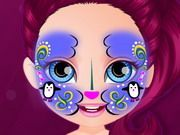Play Baby Barbie Hobbies Face Painting Game