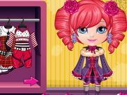 Play Baby Barbie Monster High Costumes Game