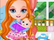 Play Baby Barbies Little Sister Game