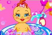 Play Baby Bathing Game