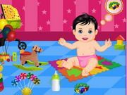 Play Baby Care Bath Game