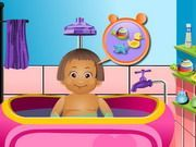 Play Baby Daisy Bathing Time Game