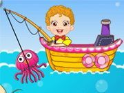 Play Baby Fishing Games Game