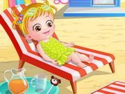 Play Baby Hazel At Beach Game