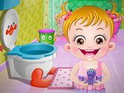Play Baby Hazel Bathroom Hygiene Game