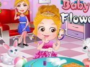 Play Baby Hazel Flower Girl Game