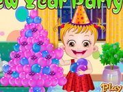Play Baby Hazel New Year Party Game