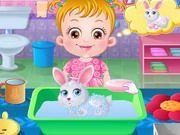 Play Baby Hazel Pet Care Game