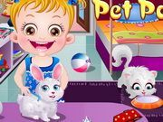 Play Baby Hazel Pet Party Game