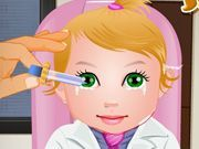 Play Baby Juliet Eye Care Game