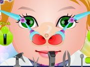 Play Baby Juliet Nose Doctor Game