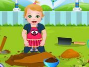 Play Baby Juliet Washing Clothes Game