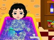 Play Baby Snow White Bubble Bath Game