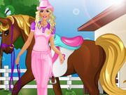 Play Barbie Goes Horse Riding Game