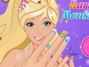 Play Barbie Like Monster Nails Game