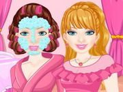 Play Barbie Look Alike Makeover Game