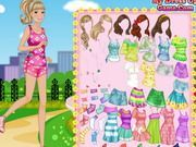Play Barbie Morning Exercise Game