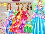 Play Barbie Princess Dresses Game