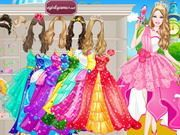 Play Barbie Prom Princess Dress Up Game