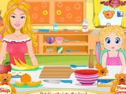 Play Barbies Perfect Baby Game