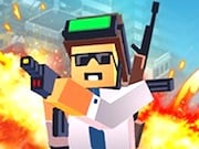 Play Battle Royale Minecraft Game