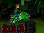 Play Ben 10 Bike Trail Game