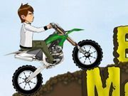 Play Ben 10 Moto Mania Game