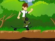 Play Ben 10 Skateboard Game