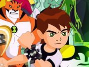 Play Ben 10 Spot The Not Game