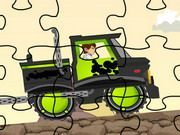 Play Ben 10 Truck Puzzle Game