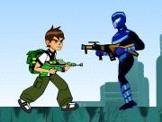 Play Ben10 Fighting Adventure Game