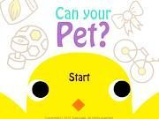 Play Can Your Pet Game